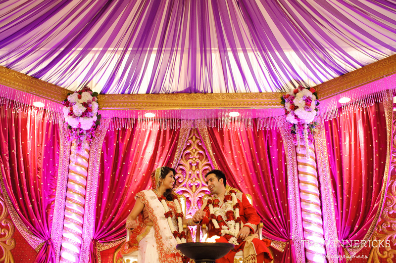 Colorful Hindu Indian Wedding At Hotel Intercontinental In Dallas