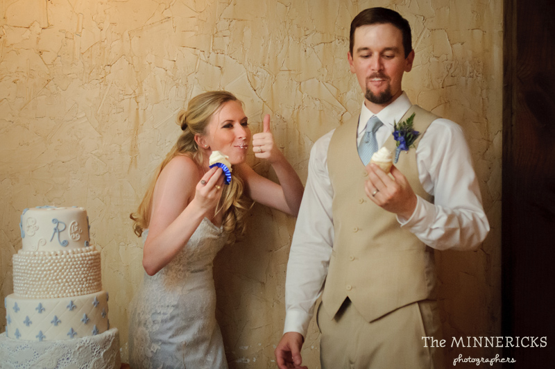 Southern vintage wedding at 7F Lodge in College Station with boots and a chapel (27)