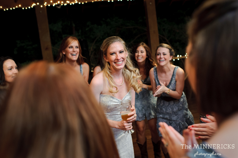 Southern vintage wedding at 7F Lodge in College Station with boots and a chapel (38)