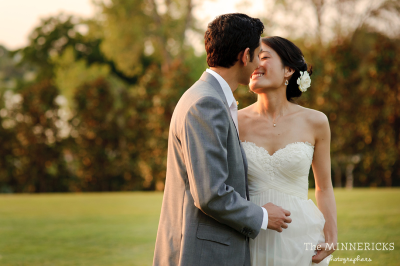 outdoor wedding at the Dallas Arboretum in the Lay Ornamental Garden and Camp House (24)