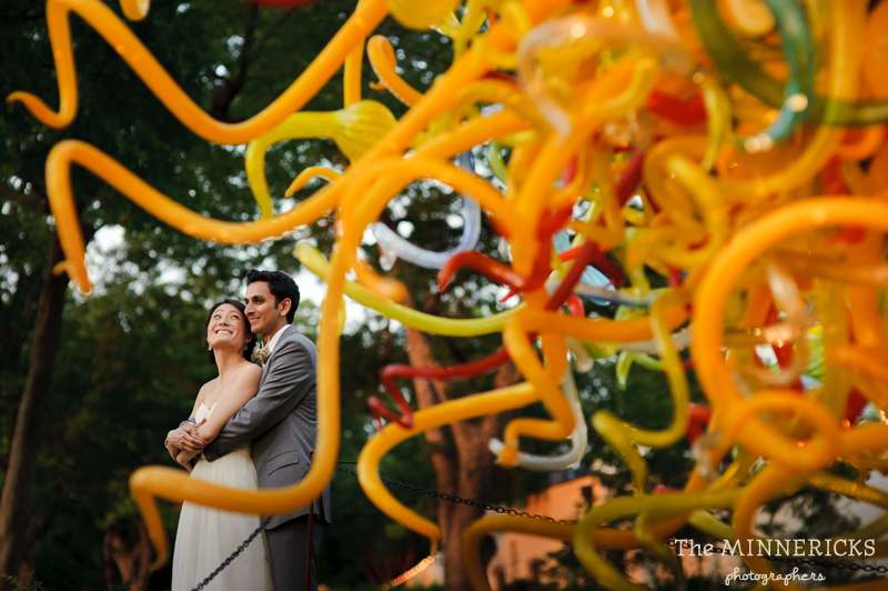 outdoor wedding at the Dallas Arboretum in the Lay Ornamental Garden and Camp House (26)