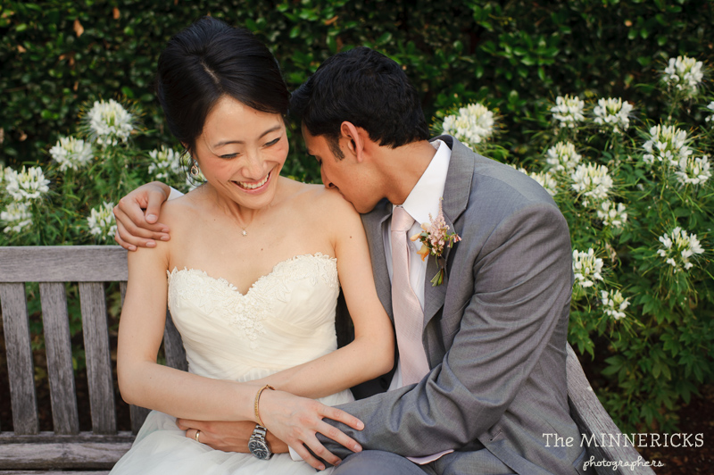 outdoor wedding at the Dallas Arboretum in the Lay Ornamental Garden and Camp House (28)