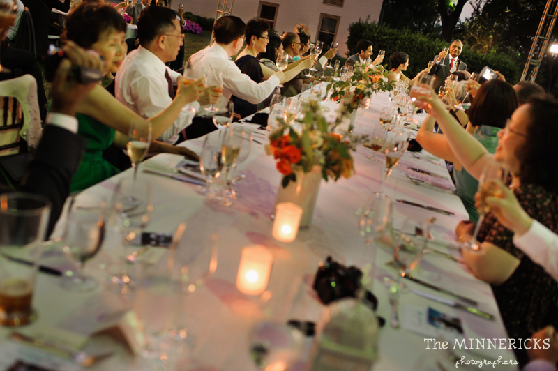 outdoor wedding at the Dallas Arboretum in the Lay Ornamental Garden and Camp House (37)
