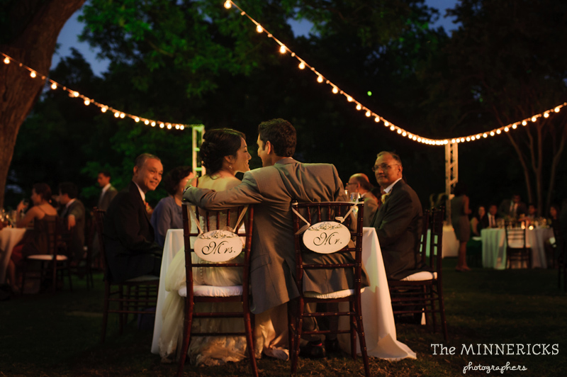outdoor wedding at the Dallas Arboretum in the Lay Ornamental Garden and Camp House (38)