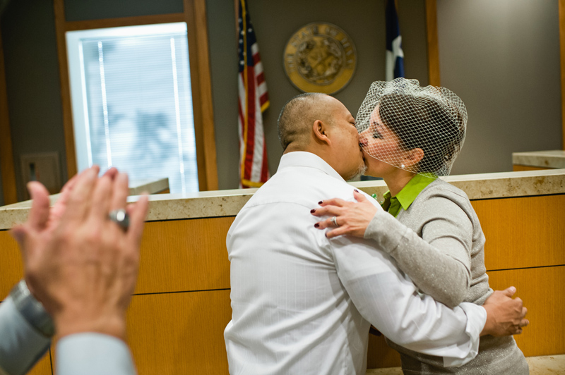 12-12-12 kind of love Collin County courthouse wedding
